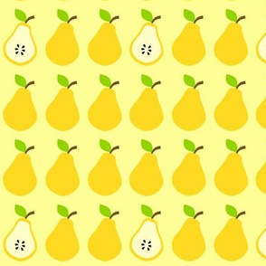 Juicy Pears Yellow