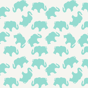 Baby Blue Elephants