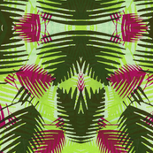 Jungle print LIME