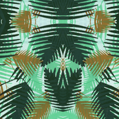 Jungle print TEAL