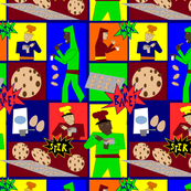 Super_Bakers make cookies