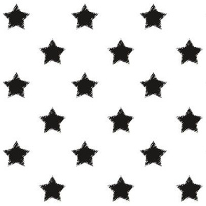 Black_Stars_on_White_background