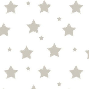Gray_Stars_on_White_background_and_Mini_Stars