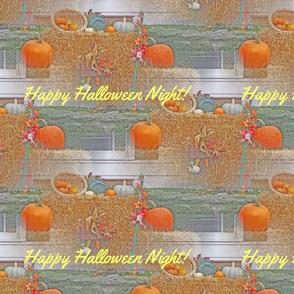 Happy Halloween Night Pumpkins
