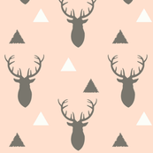 Woodland_Deer_Triangles_Light_Blush