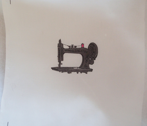 Danita's Antique Sewing Machine