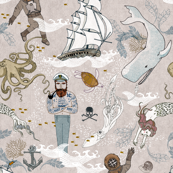 Cephalopods + Old Sea Dogs