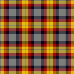 Ikelman tartan - yellow, red, black, grey