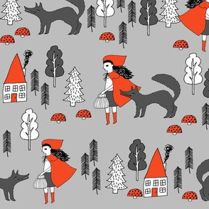 Red Riding Hood - Slate by Andrea Lauren