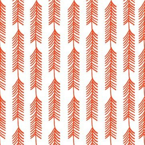 Stripe Tree - Red Riding Hood - by Andrea Lauren