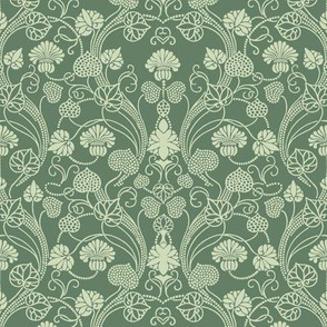 lotus damask lichen