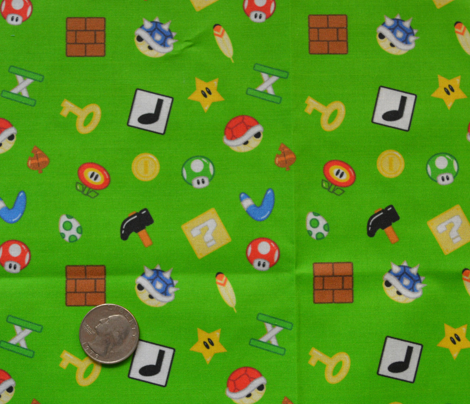 Mini Gaming Items in Green