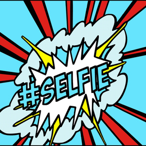 3 pop art comic words newsweek magazine covers vintage retro roy lichtenstein inspired selfie social media hashtag Instagram twitter facebook 25 april 1966 self portrait explosion