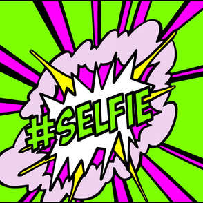 4  pop art comic words newsweek magazine covers vintage retro roy lichtenstein inspired selfie social media hashtag Instagram twitter facebook 25 april 1966 self portrait explosion