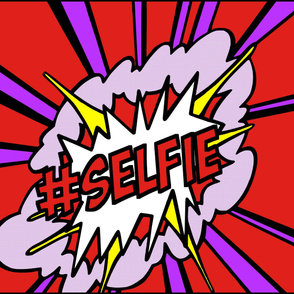 9 pop art comic words newsweek magazine covers vintage retro roy lichtenstein inspired selfie social media hashtag Instagram twitter facebook 25 april 1966 self portrait explosion