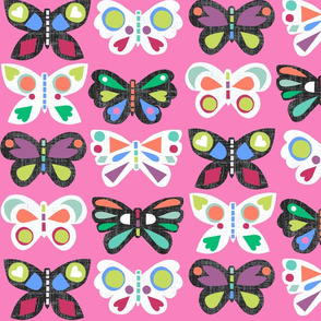 Butterfly Parade Pink
