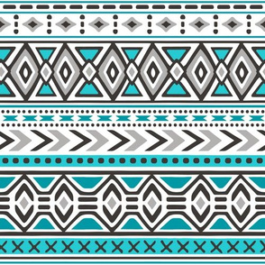 Tribal Aztec Rows