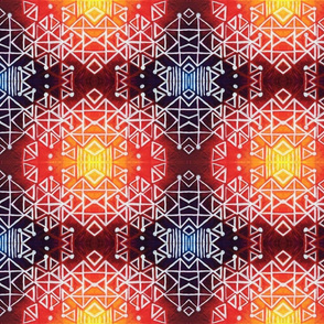 Geometric Ginger Tribe