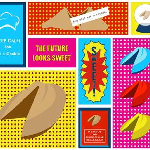 The Future Looks Sweet - Pop Art Cookie