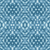 Shibori Diamonds Slate