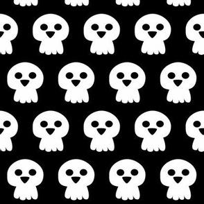 Cute Halloween skull