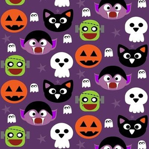 Cute halloween friends