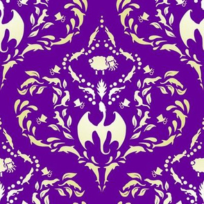 Wayward Baroque Purple Large