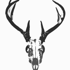 deer skull small