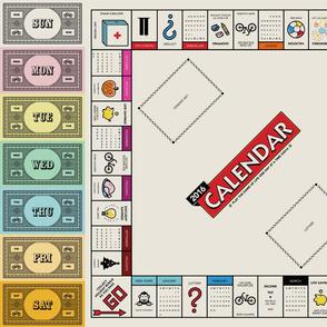 Board Game Calendar