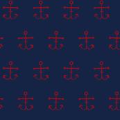 Anchors - Indigo