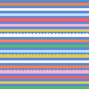 Delilah Stripe - Cornflower