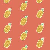 pineapples sunset