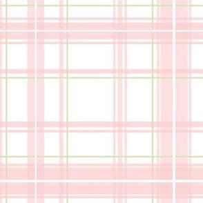 Lotte Tartan  in peony pink