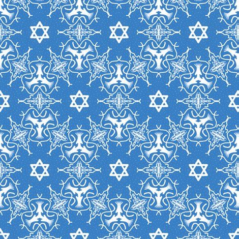 Star of david medallion pattern fabric themadcraftduckie for Star design fabric