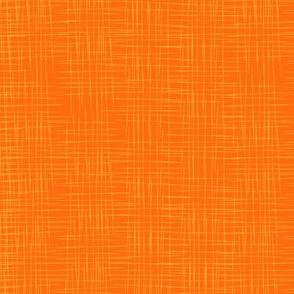 Faux Linen - Orange