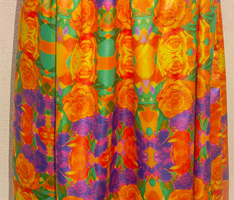 Orange Rose #1 Kaleidoscope