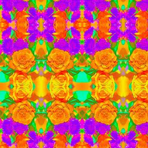 Orange Rose #1 Kaleidoscope