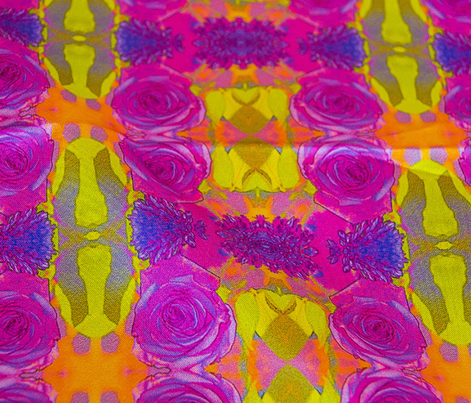 Purple Rose #1 Kaleidoscope