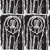 Baboon Woodcut Repeat-ch