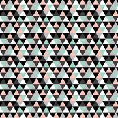 Triangle Coral Mint