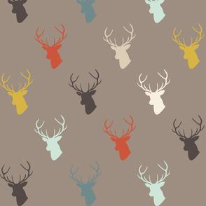 Dark Taupe Custom Deer