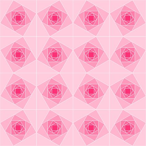 square geo roses