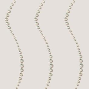 Pearl Stripes in belgian linen