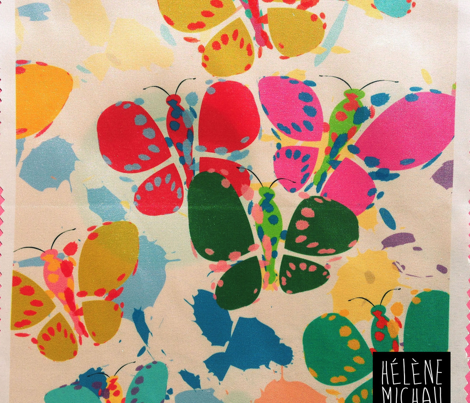 Butterflies - Assorted fabric