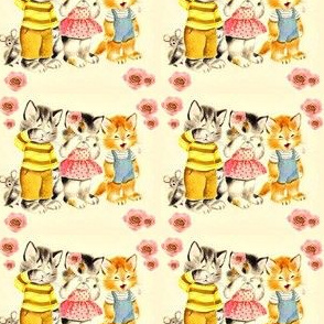 vintage kitties
