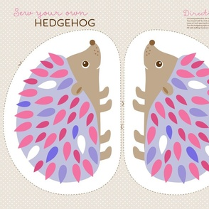 Hedgehog cut and sew