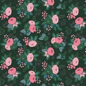 Floral all over dark