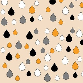 drops mini _in_honey_grey_and_black_on_cream
