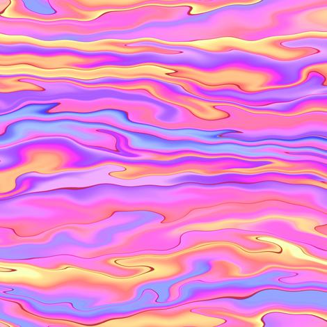 paua shell - sunset
