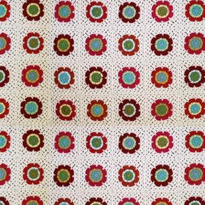 Mod Floral Blanket